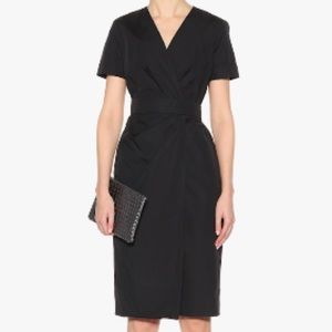 Max Mara Dalmine Buckle-detailed Cotton Dress